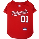Washington Nationals Dog Jerseys