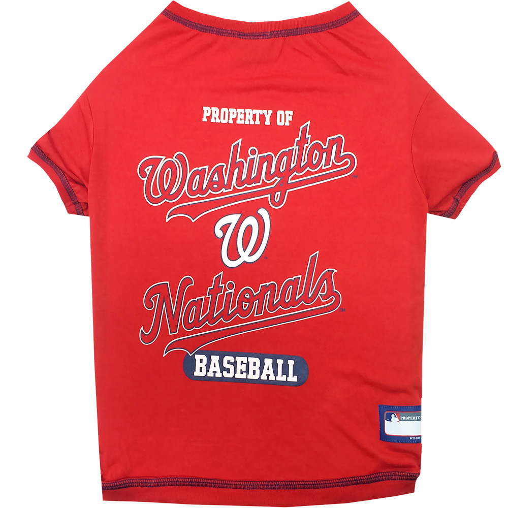 Washington Nationals Dog Tee Shirts