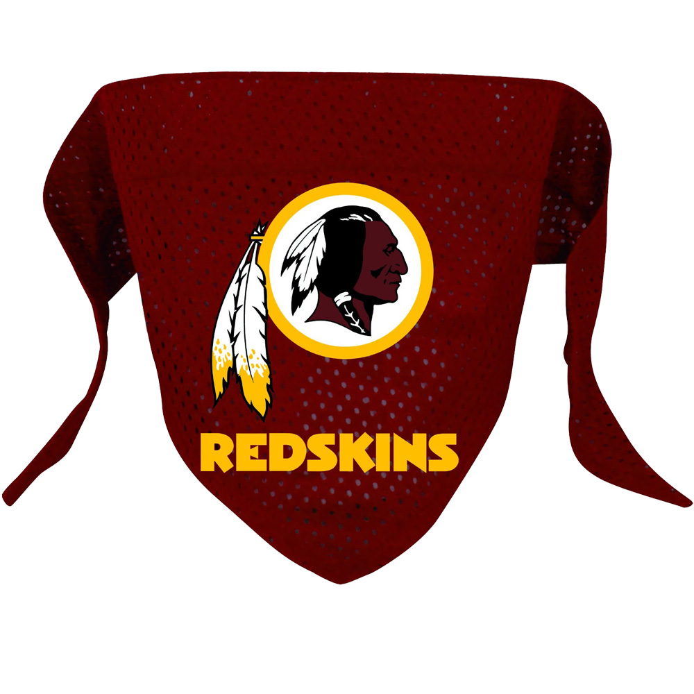 Washington Redskins Dog Bandanas