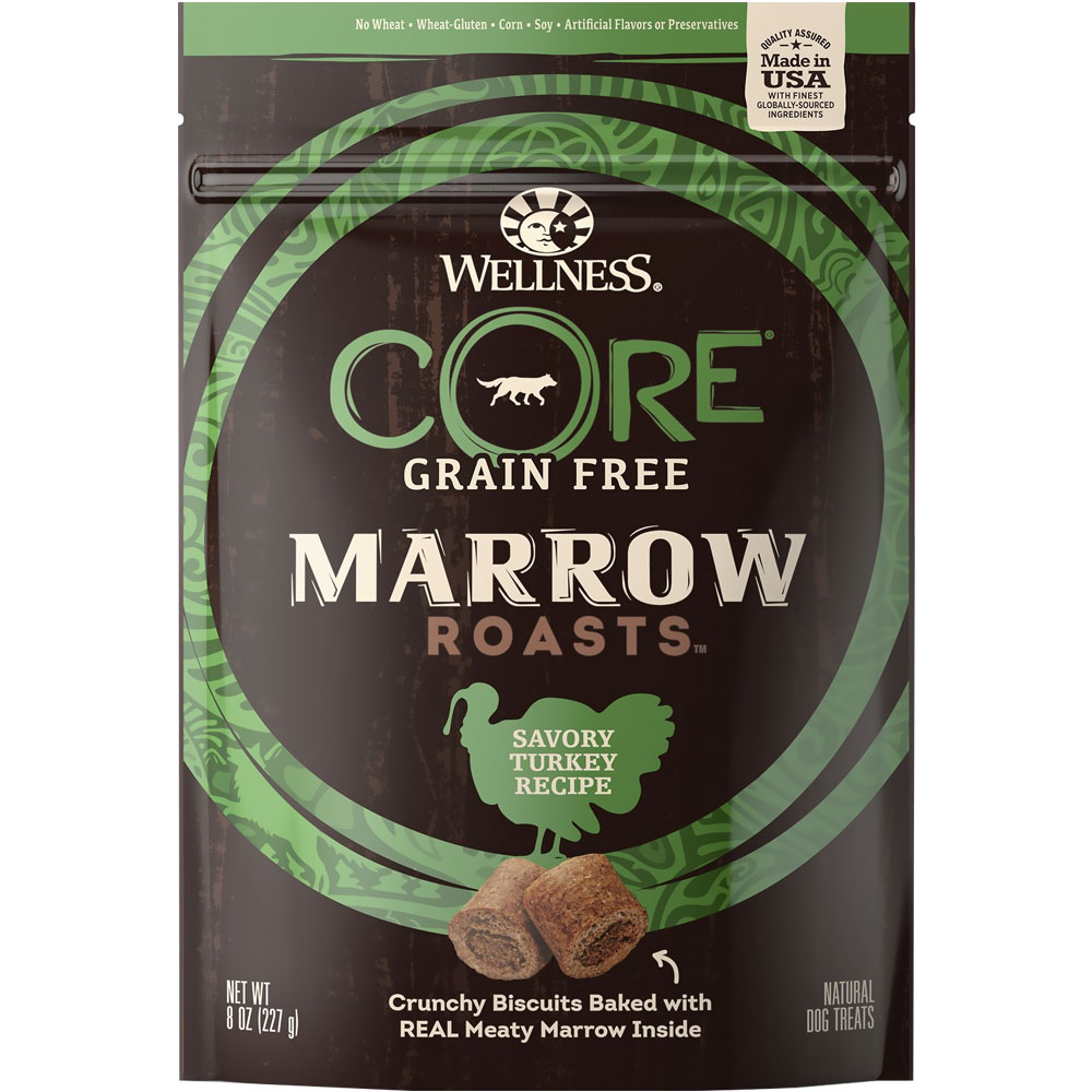 Wellness Core Marrow Roasts -  Savory Turkey Recipe (8 oz)