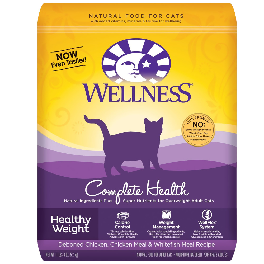 Wellness Healthy Weight Adult Cat Food (11.5 lbs)