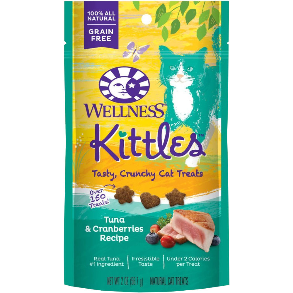 Wellness Kittles Tuna & Cranberries Cat treats (2 oz)