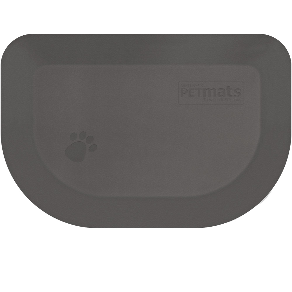 "Wellness Rounded PetMat - Gray Cloud (X-Large 54""x36"")"
