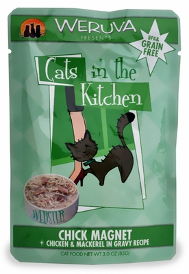 Weruva Cats in the Kitchen Pouch-Chick Magnet (3 oz)
