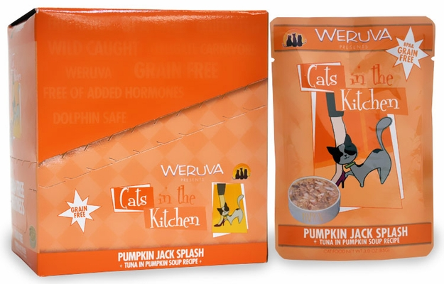 Weruva Cats in the Kitchen Pouch-Pumpkin Jack Splash 8-Pack (24 oz)
