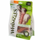 Whimzees Toothbrush Dental Dog Treats - Large (6 count)