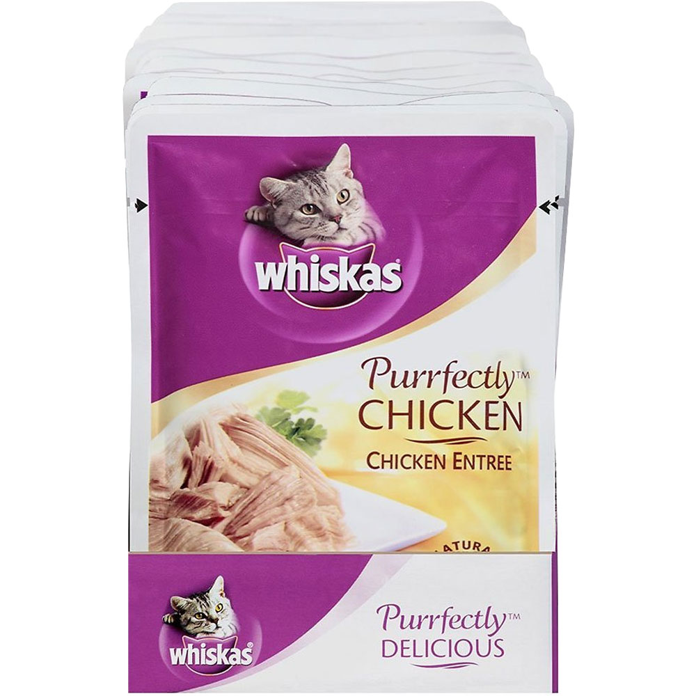 Whiskas Purrfectly Chicken - Chicken Flavor (3 oz)