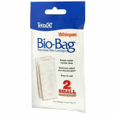 Whisper Assembled Bio-Bag Cartridge Small (2 pack)