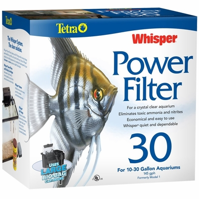 Whisper Power Filter 30 (10-30 Gal)