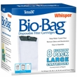 Whisper Unassembled Bio-Bag Disposable Filter Cartridges Large (8 pack)