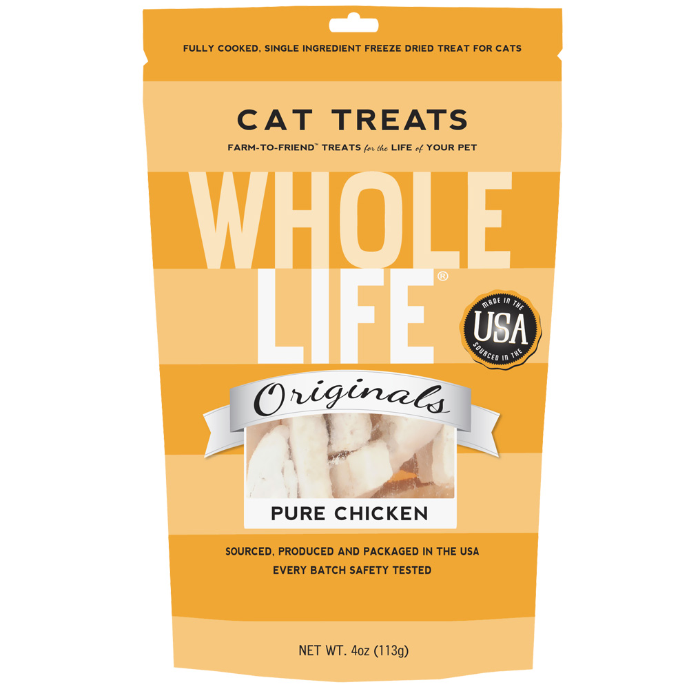 Whole Life Originals Freeze-Dried Cat Treats - Chicken (3.3 oz)