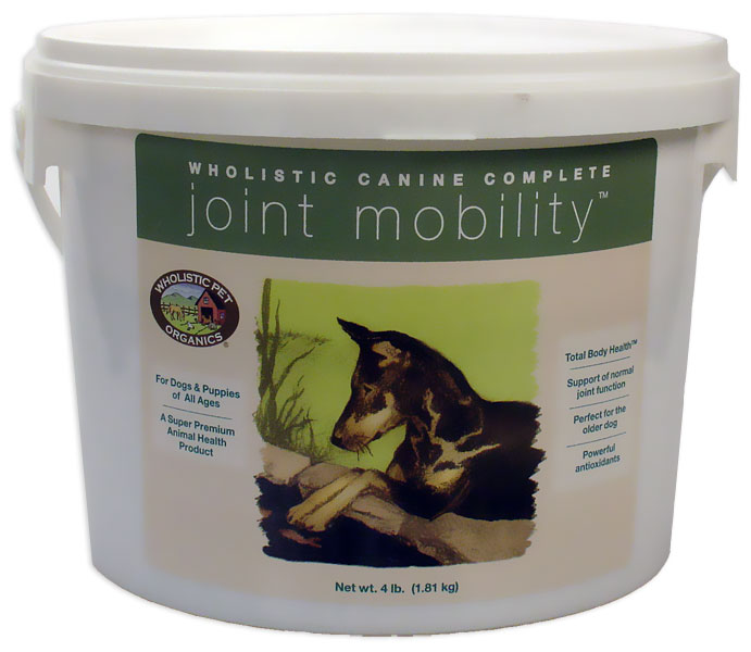 Wholistic Canine Complete Joint Mobility (4 lbs Tub)