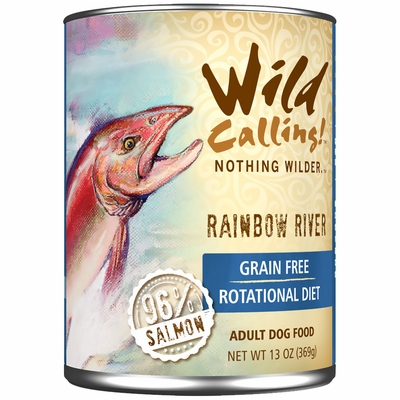 Wild Calling Rainbow River Canned Dog Food - Salmon (13 oz)