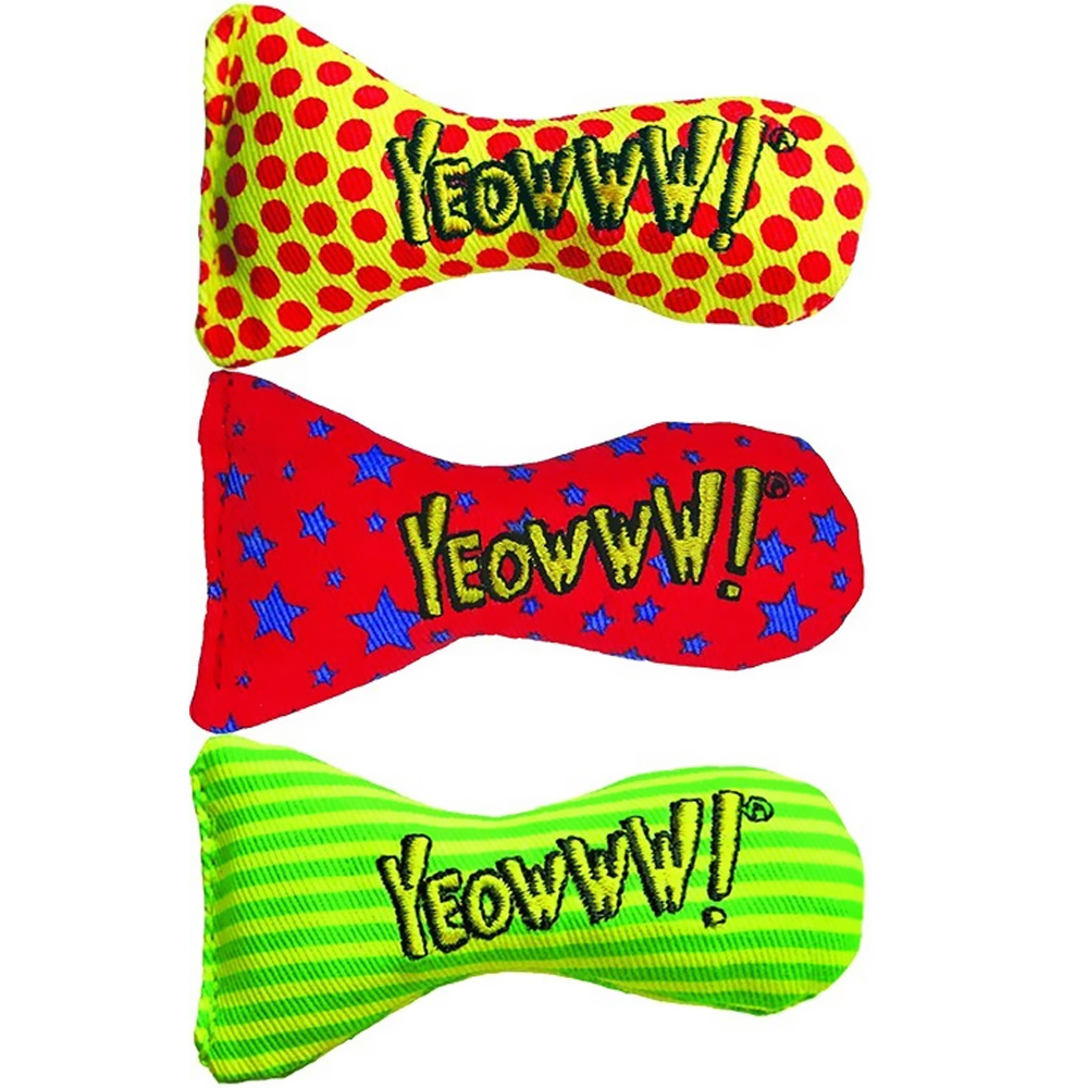 Yeowww! Stinkies Catnip Filled Sardine Toy - Single (Assorted)
