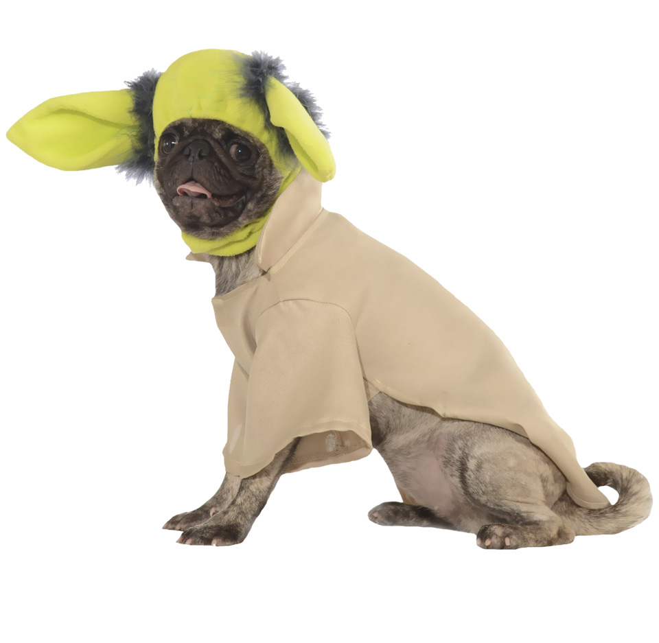 Yoda Dog Costume - Medium