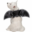 Zack & Zoey Bat Glow Wings Harness Dog Costume - Medium