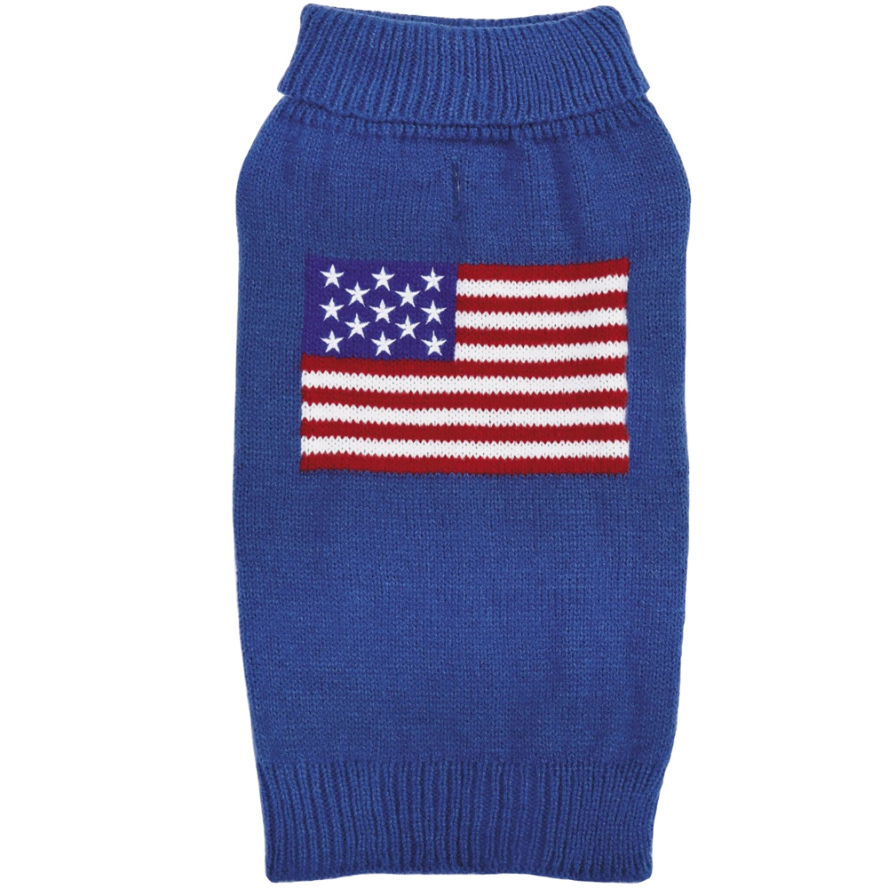 Zack & Zoey Elements American Flag Sweater - XSmall