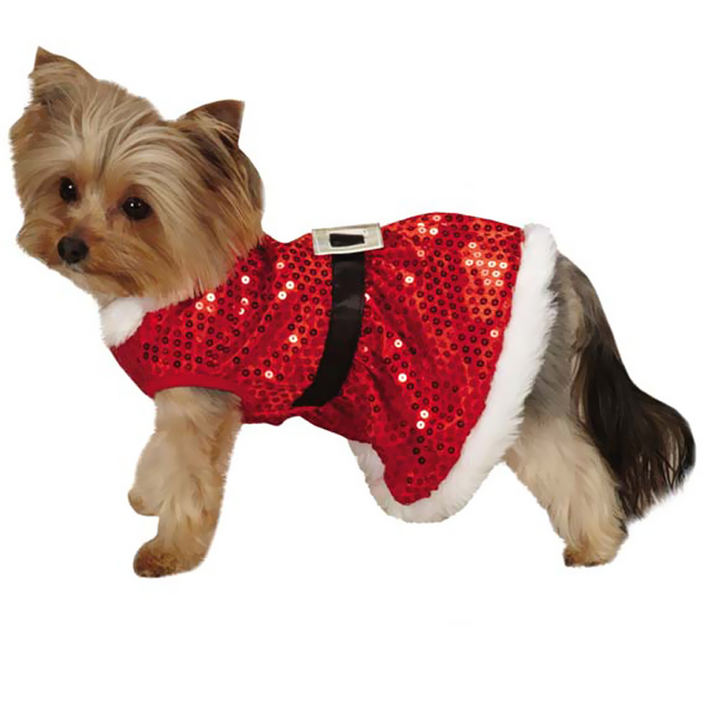 ... ZACK-AND-ZOEY-MRS-CLAUS-SEQUIN-DRESS-RED- ...  sc 1 st  EntirelyPets & Zack u0026 Zoey Mrs Claus Sequin Dress Red - MEDIUM