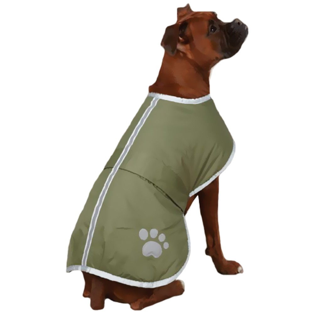 Zack & Zoey Nor'easter Dog Blanket Coat - Chive