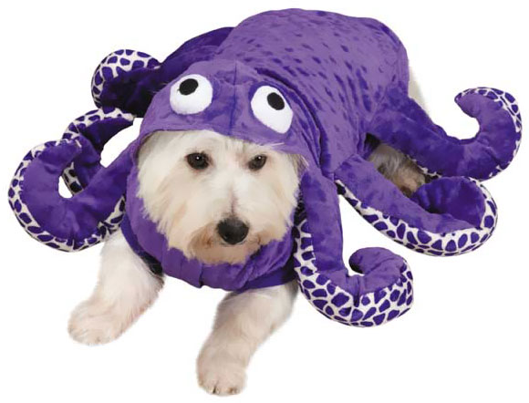 Zack & Zoey Octo-hound Costume - LARGE