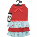 Zack & Zoey® Happy Veggies Ruffle Dress