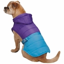 Zack & Zoey Trek Puffy Jacket - Purple (Large)