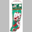 "Zanies Doggie Delight Holiday Stocking 14"" - Santa"