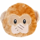 ZippyPaws Squeakie Emojiz - Speak No Evil Monkey