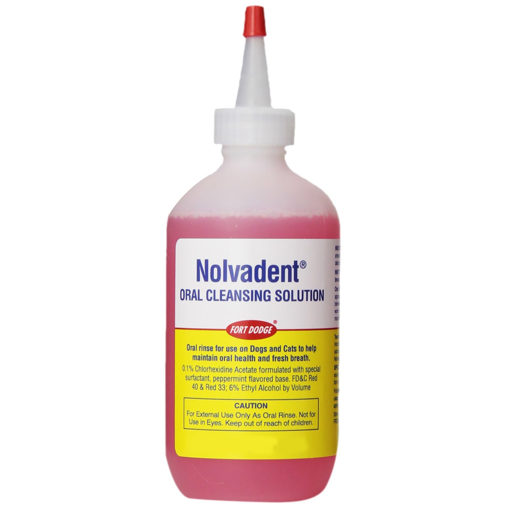Zoetis Nolvadent Oral Cleansing Solution (16 fl oz)