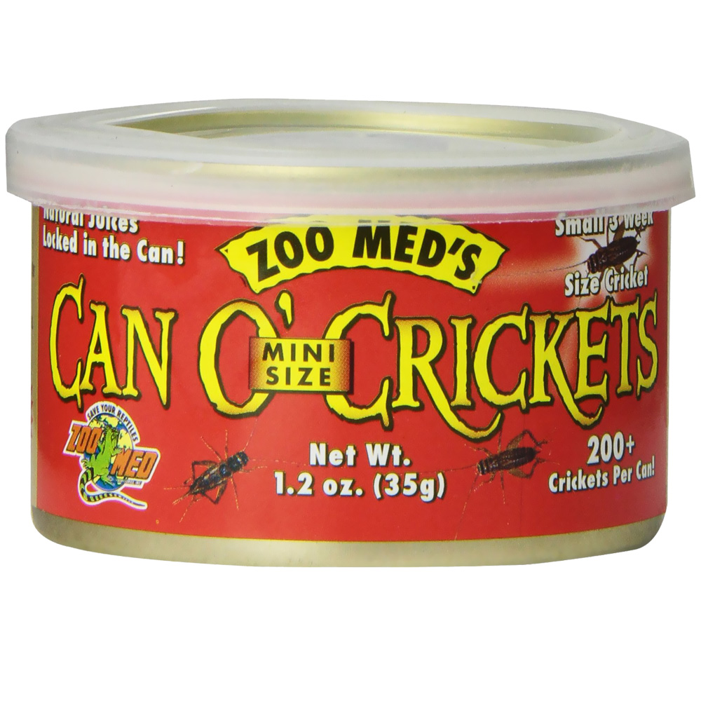 Zoo Med Can O' Crickets Mini (12 Pack)