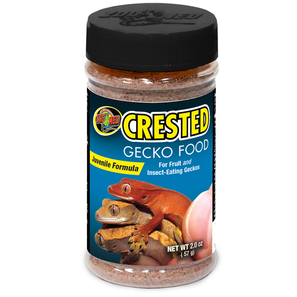 Zoo Med Crested Gecko Food - Juvenile Formula (2 oz)