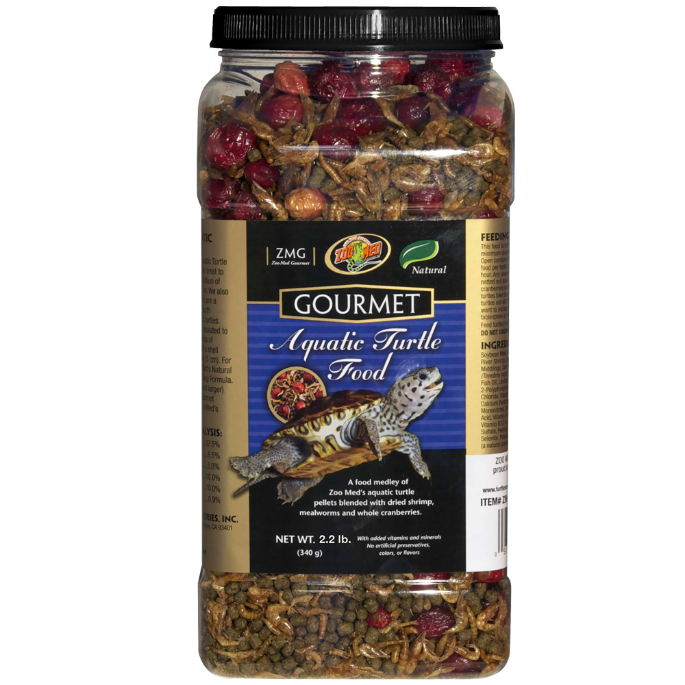 Zoo Med Gourmet Aquatic Turtle Food (2.2 lb)