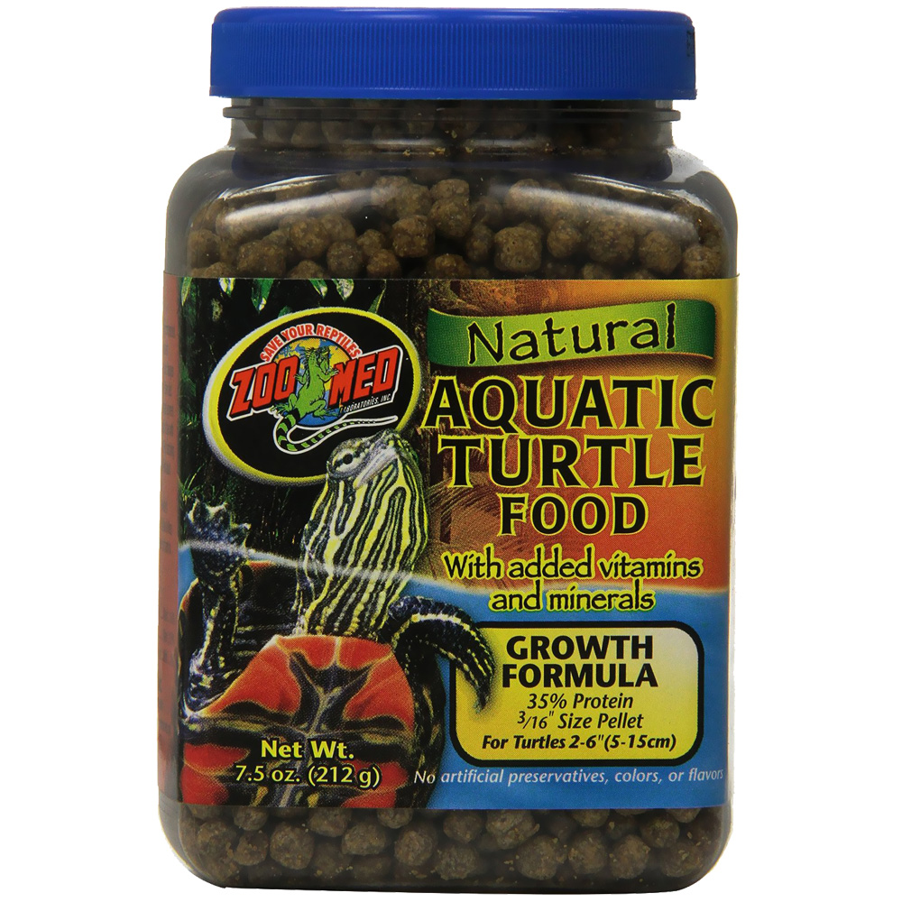 Zoo Med Natural Aquatic Turtle Food - Growth Formula (50 lb)
