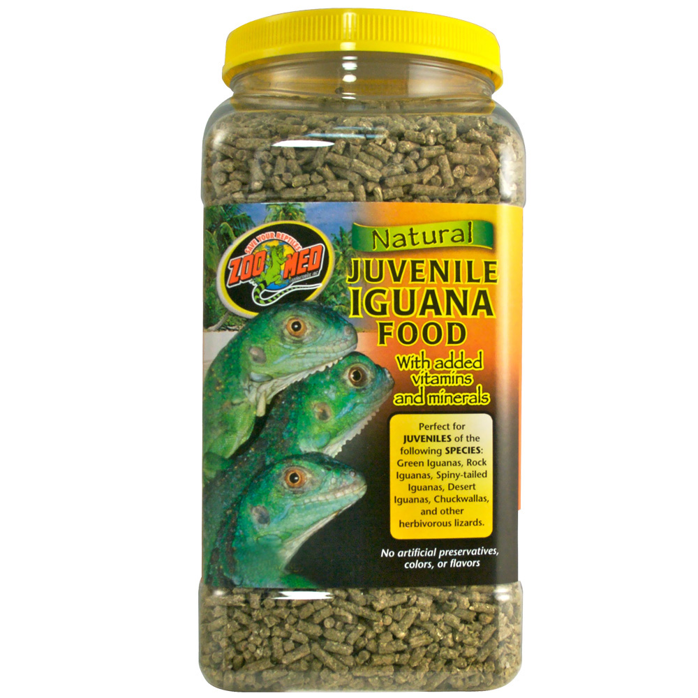 Zoo Med Natural Iguana Food Juvenile Formula (50 lb)