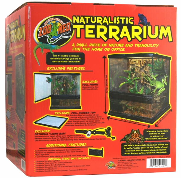Zoo Med Natural Terrariums & Habitats