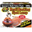 Zoo Med Repti Basking Spot Value Pack 100 Watts (2 pack)