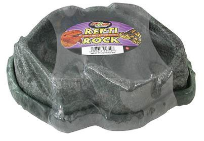 Zoo Med Repti Rock Reptile Food & Water Dishes (Small)