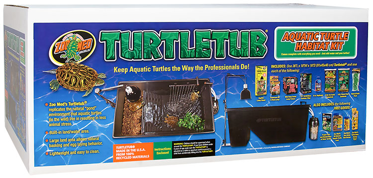 Zoo Med Turtletub Aquatic Turtle Habitat Kit