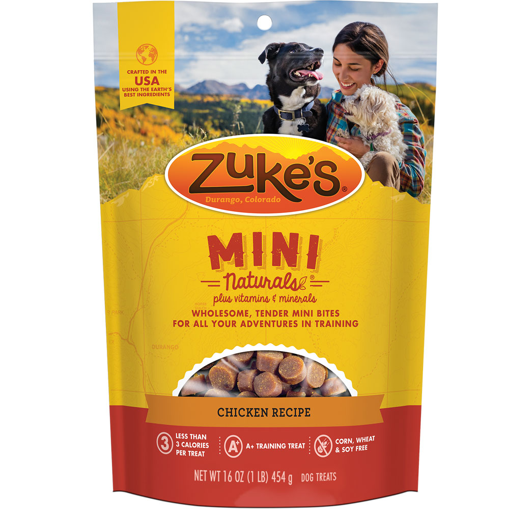 Zuke's Mini Naturals Healthy Moist Miniature Treats - Chicken (1 lb.)