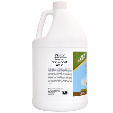 Zymox Equine Defense Enzymatic Skin Coat Wash Gallon