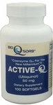 Active-Q Ubiquinol 50mg (100 Softgels) featuring Kaneka QH CoQ10