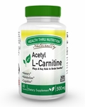 Acetyl L-Carnitine 500mg (60 Vegecaps)