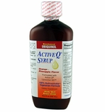 Active Q Syrup 100mg Bioenhanced Ubiquinol Coenzyme Q10 per 5ml (500 ml bottle)
