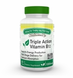 Vitamin B-12 Triple Action Timed Release Formula 1,000 mcg (60 Tablets)
