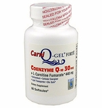 Carni Q-Gel (L-Carnitine and Q-Gel 60 Softgels)