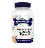 DogVites (100 chewable multi-vitamin tablets)