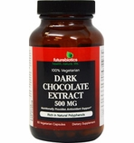 Futurebiotics Dark Chocolate Extract - 500mg - 60 vegecaps