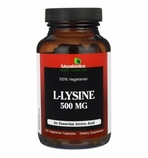 Futurebiotics L-Lysine 500mg - 100 Vegecapsules - Essential Amino Acid