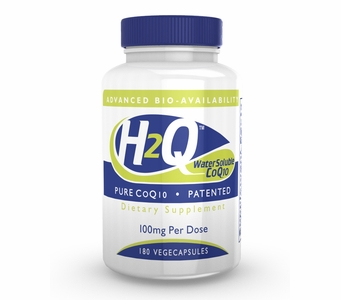 H2Q Advanced Bioavailability CoQ10 (100mg / 180 count) Pure Advanced Absorption Hydro-Q-Sorb® CoQ10