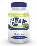 H2Q Advanced Bioavailability CoQ10 (100mg / 60 count) Pure Advanced Absorption Hydro-Q-Sorb® CoQ10